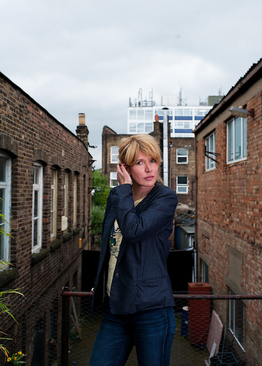 Actress & Comedian Julia Davis poses for photographs at a studio in East London on June 22nd 2012...Photographs by  Ki Price for The Guardian Weekend Magazine.Comedian Julia Davis poses for portraits at a location in east London on June 21st 2012...Julia Davis new series Hunderby is due to be screened in August on Sky Alantic...Photographs by Ki Pricemagazine..