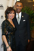 1 November 2010- New York, New York- l to r: Judge Jeanine Pirro and Johnny L. Taylor Jr., President, Thurgood Marshall College Fund  at The 23rd Annual Thurgood Marshall College Fund Awards Dinner held at The Sheraton NY Hotel & Towers on November 1, 2010 in New York City. Photo Credit: Terrence Jennings
