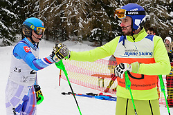 Super Combined and Super G, KRAKO Jakub Guide: BROZMAN Branislav, B2, SVK at the WPAS_2019 Alpine Skiing World Championships, Kranjska Gora, Slovenia