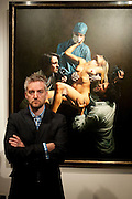 MITCH GRIFFITHS, Opening of 'The Promised Land' Exhibition of work by Mitch Griffiths. Halcyon Gallery. Bruton St. London. 28 April 2010 *** Local Caption *** -DO NOT ARCHIVE-© Copyright Photograph by Dafydd Jones. 248 Clapham Rd. London SW9 0PZ. Tel 0207 820 0771. www.dafjones.com.<br /> MITCH GRIFFITHS, Opening of 'The Promised Land' Exhibition of work by Mitch Griffiths. Halcyon Gallery. Bruton St. London. 28 April 2010