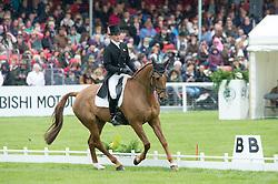 Murphy Joseph, (IRL), Electric Cruise<br /> Dressage <br /> Mitsubishi Motors Badminton Horse Trials - Badminton 2015<br /> © Hippo Foto - Jon Stroud<br /> 08/05/15