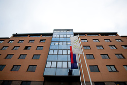 Headquarters of the Football Association of Slovenia (NZS – Nogometna zveza Slovenije), on November 7, 2011, in NZS, Brnciceva 41g, Crnuce, Ljubljana, Slovenia.  (Photo by Vid Ponikvar / Sportida)