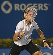 Rogers Cup, York University, August, 2012<br /> Mardy Fish, Richard Gasquet, John Isner Milos Raonic, Novak Djokovic, Janko Tipsarevic