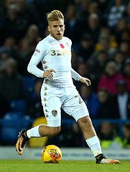 Samu Saiz of Leeds United - Mandatory by-line: Robbie Stephenson/JMP - 31/10/2017 - FOOTBALL - Elland Road - Leeds, England - Leeds United v Derby County - Sky Bet Championship