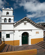 The church Chorro Quevedo seems to have been erected on the spot where it was celebrated the inaugural mass for Santa Fe de Bogota