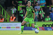 Forest Green Rovers Matt Mills(5) during the EFL Sky Bet League 2 match between Forest Green Rovers and Newport County at the New Lawn, Forest Green, United Kingdom on 31 August 2019.