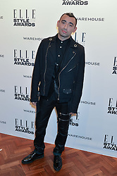 NICOLA FORMICHETTI at the 17th Elle Style Awards 2014 in association with Warehouse held at One Embankment, 8 Victoria Embankment, London on 18th February 2014.
