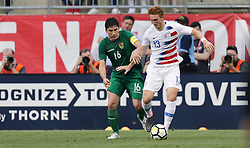 May 28, 2018 - Chester, PA, USA - Chester, PA - Monday May 28, 2018: Ronald Raldes, Josh Sargent during an international friendly match between the men's national teams of the United States (USA) and Bolivia (BOL) at Talen Energy Stadium. (Credit Image: © John Dorton/ISIPhotos via ZUMA Wire)