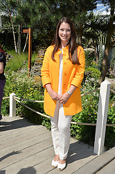 RACHEL DE THAME at the 2014 RHS Chelsea Flower Show held at the Royal Hospital Chelsea, London on 19th May 2014.