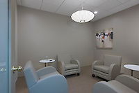 Interior Image of lounge conference room at Busines Suites Harborplace by Jeffrey Sauers of Commercial Photographics