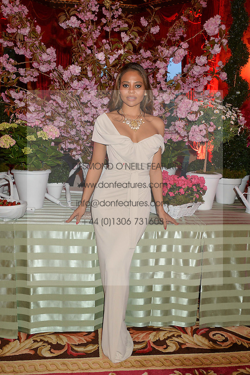 VISCOUNTESS WEYMOUTH at the Tatler Best of British party in association with Jaegar held at The Ritz, Piccadilly, London on 28th April 2015.