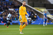 Peterborough United goalkeeper Ben Alnwick during the Sky Bet League 1 match between Peterborough United and Shrewsbury Town at the ABAX Stadium, Peterborough, England on 12 December 2015. Photo by Aaron Lupton.