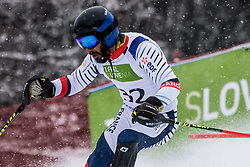 Bourdenx Manoel of France during Slalom race at 2019 World Para Alpine Skiing Championship, on January 23, 2019 in Kranjska Gora, Slovenia. Photo by Matic Ritonja / Sportida
