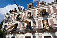 Dragons in the house of magic, Blois, Loire valley, France