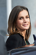 Queen Letizia of Spain attends  Commemorative lunch of the 80th anniversary of the Marca newspaper at Royal Theater on December 13, 2018 in Madrid, Spain