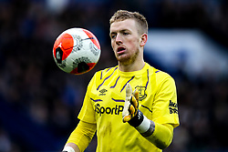 Jordan Pickford of Everton - Mandatory by-line: Robbie Stephenson/JMP - 01/03/2020 - FOOTBALL - Goodison Park - Liverpool, England - Everton v Manchester United - Premier League