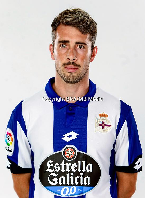 Spain - La Liga Santander 2016-2017 / <br /> ( R.C. Deportivo de La Coruna ) - <br /> Luis Carlos Correia Pinto &quot; Luisinho &quot;