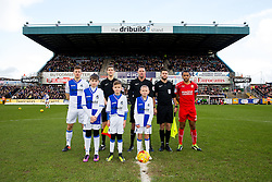 Mascots - Rogan Thomson/JMP - 28/01/2017 - FOOTBALL - Memorial Stadium - Bristol, England - Bristol Rovers v Swindon Town - Sky Bet League One.