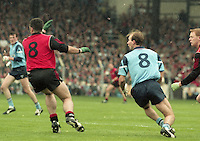 Dublin v Down, All Ireland Football Final, Croke Park, 18/09/1994.<br /> (Part of the Independent Newspapers Ireland/NLI Collection).