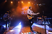 Jake Bugg performing live at the HMV Institute concert venue in Birmingham, UK on February 19, 2013