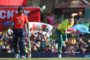 Dwaine Pretorius during the International T20 match between South Africa and England at Supersport Park, Centurion, South Africa on 16 February 2020.