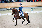 Diederik van Silfhout - Expression<br /> KNHS Indoorkampioenschappen 2018<br /> © DigiShots