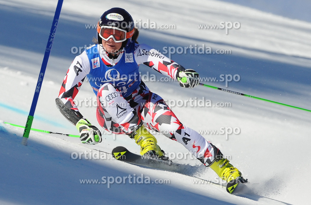 28.12.2015, Hochstein, Lienz, AUT, FIS Weltcup Ski Alpin, Lienz, Riesenslalom, Damen, 1. Durchgang, im Bild Ricarda Haaser (AUT) // Ricarda Haaser of Austria during 1st run of ladies Giant Slalom of the Lienz FIS Ski Alpine World Cup at the Hochstein in Lienz, Austria on 2015/12/28. EXPA Pictures © 2015, PhotoCredit: EXPA/ Erich Spiess