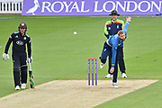 Ivan Thomas (Kent) in action during the Royal London 1 Day Cup match between Surrey County Cricket Club and Kent County Cricket Club at the Kia Oval, Kennington, United Kingdom on 12 May 2017. Photo by Jon Bromley.