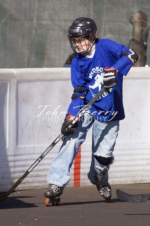 Madison Hockey Tournament.Seniors-Wild vs Avalance.February 24, 2007