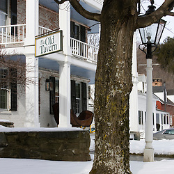 The Old Tavern in Grafton, Vermont.  Winter.