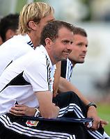 Fussball 1. Bundesliga:  Saison  Vorbereitung 2012/2013     Testspiel: Bayer 04 Leverkusen - FC Augsburg  25.07.2012 Trainer Trainer Sascha Lewandowski (Bayer 04 Leverkusen)