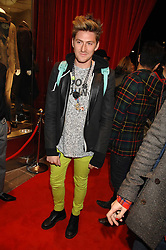 Designer HENRY HOLLAND at a party to celebrate the opening of the new Uniqlo store at 331 Oxford Street, London W1 on 6th November 2007.<br />