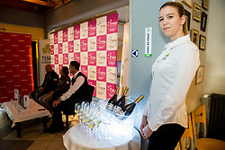 Press conference of Slovenian Women Tennis Team before FedCup Competition 2018, on January 25, 2018 in Tennis Centre Breskvar, Ljubljana, Slovenia.  Photo by Vid Ponikvar / Sportida