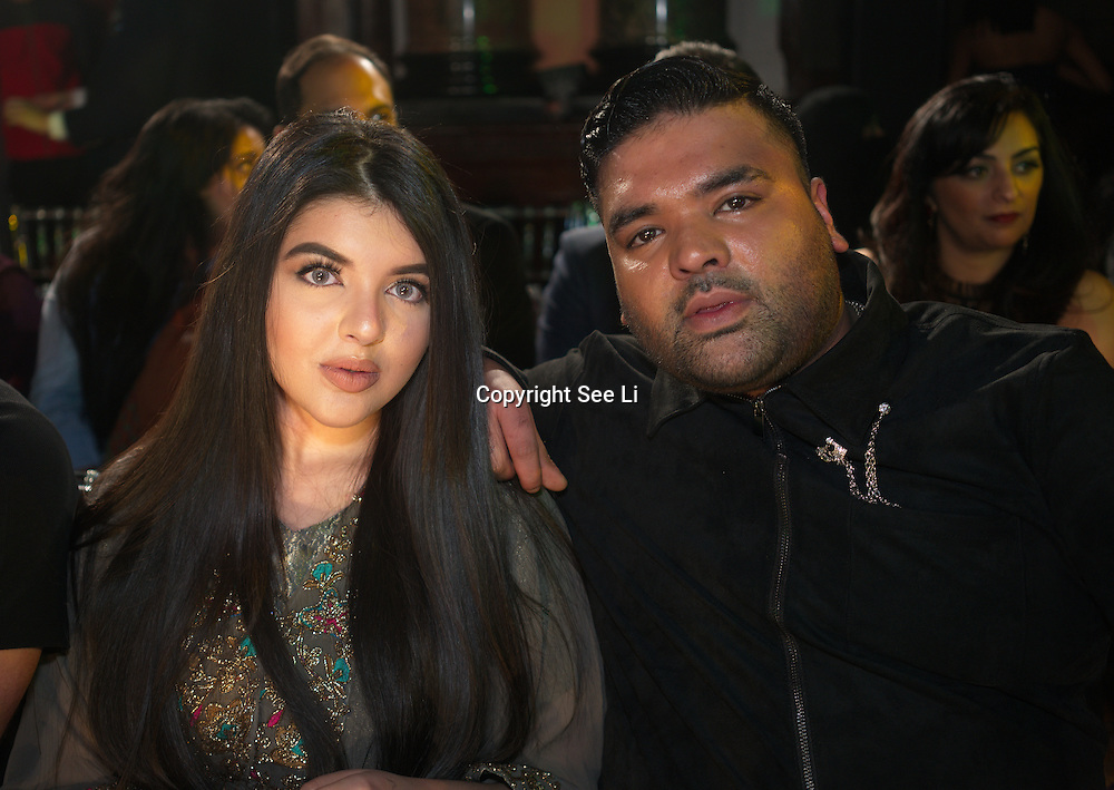 London,England,UK. 4th March 2017: Naughty Boy and guest attends the India Pakistan London Fashion Show at Gilson Hall. by See Li