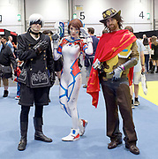 MCM Comic Con<br /> at ExCel London, Great Britain <br /> 28th May 2017 <br /> <br /> General atmosphere / people / faces <br /> <br /> Photograph by Elliott Franks <br /> Image licensed to Elliott Franks Photography Services