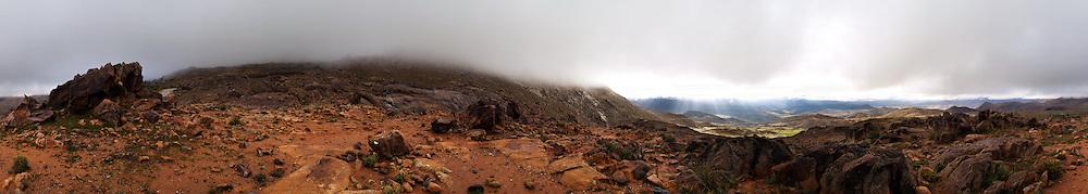 A view of the Atlas mountains, Morocco
