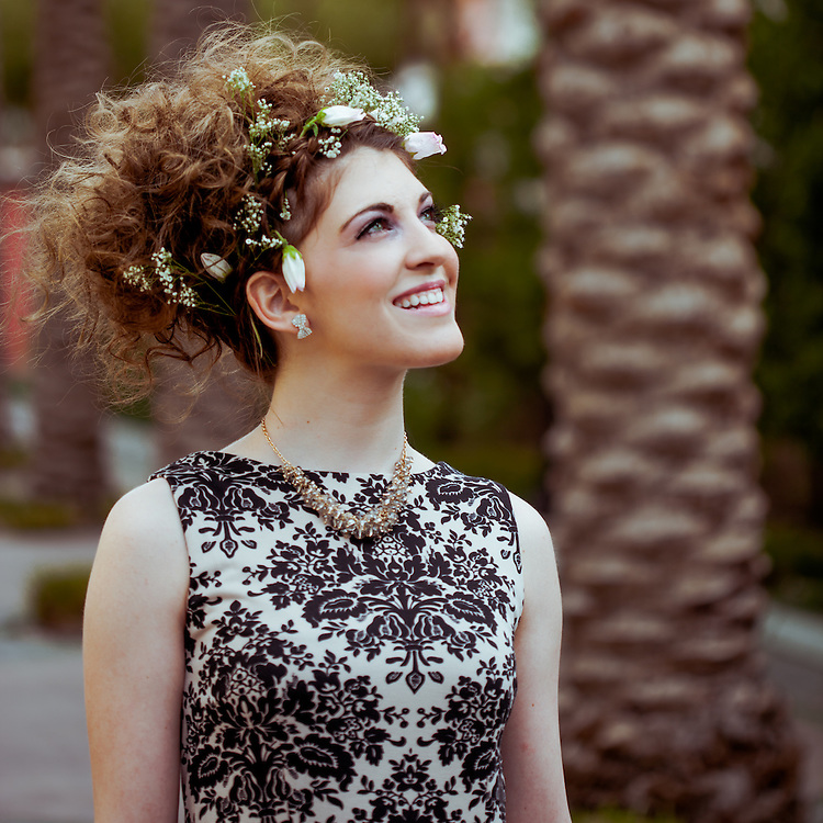 Styled shoot for Hair Stylist Tzigane Libson of Headliners Salon in Las Vegas