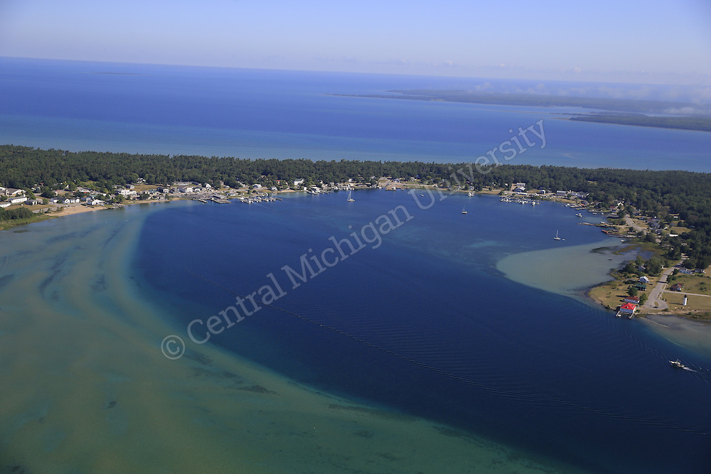 Beaver Island in the summer of 2015. Photo by Steve Jessmore/ Central Michigan University