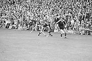 Player runs with ball during the All Ireland Senior Hurling Final in Croke park - Kilkenny v Galway, Kilkenny 2-12, Galway 1-8, 2nd September 1979.