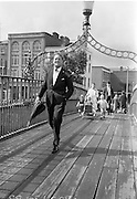 03/07/1967<br /> 07/03/1967<br /> 03 July 1967<br /> Mr James T. Deegan, (Avondale Road, Killiney) Chairman, Dublin City Group of Business and Professional Men on the Ha'penny Bridge, Dublin.