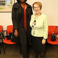 Cillah Hall, President Webster University, Beth Stroble