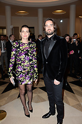 Charlotte Casiraghi and Dimitri Rassan during the 43rd Annual Cesar Film Awards ceremony held at the Salle Pleyel in Paris, France on March 2nd, 2018. Photo by Berzane-Marechal-Wyters/ABACAPRESS.COM