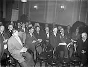 10/10/1956<br /> 10 October 1956<br /> <br /> Irish Sugar Beet Growers Meeting