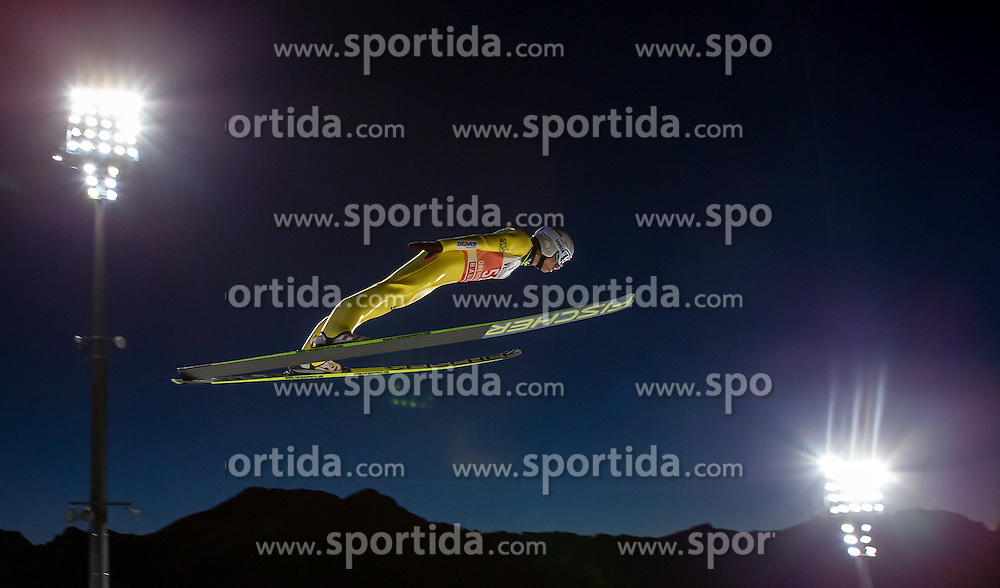 28.12.2015, Schattenbergschanze, Oberstdorf, GER, FIS Weltcup Ski Sprung, Vierschanzentournee, Training, im Bild Kamil Stoch (POL) // Kamil Stoch of Poland// during his Practice Jump for the Four Hills Tournament of FIS Ski Jumping World Cup at the Schattenbergschanze, Oberstdorf, Germany on 2015/12/28. EXPA Pictures © 2015, PhotoCredit: EXPA/ Peter Rinderer