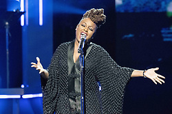 August 6, 2017 - New Jersey, U.S - Grammy Award winner, LEDISI, performing at the 2017 Black Girls Rock awards show. Black Girls Rock 2017 was held at the New Jersey Performing Arts Center in Newark New Jersey. (Credit Image: © Ricky Fitchett via ZUMA Wire)