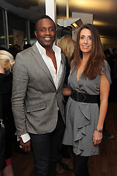 Musician ANDREW LEVY from the Brand New Heavies and his wife MELISSA at Brush With Fashion - a fashion show in association with The Body Shop and the London College of Fashion held at the London College of Fashion, 20 John PrinceÕs Street, London on 17th November 2010.<br /> Musician ANDREW LEVY from the Brand New Heavies and his wife MELISSA at Brush With Fashion - a fashion show in association with The Body Shop and the London College of Fashion held at the London College of Fashion, 20 John Prince's Street, London on 17th November 2010.
