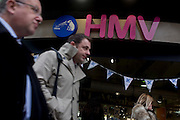 London 15/1/13: HMV the music and film retailer has been placed into administration after disappointing Christmas sales. The Oxford Street brand which employs approx 7,000 workers is Britain's biggest seller of CDs and DVDs and their shop in central London remains open while the brand's sale can be organised by Deloite, becoming the U.K. retail industry's second high-profile casualty in the space of a week.