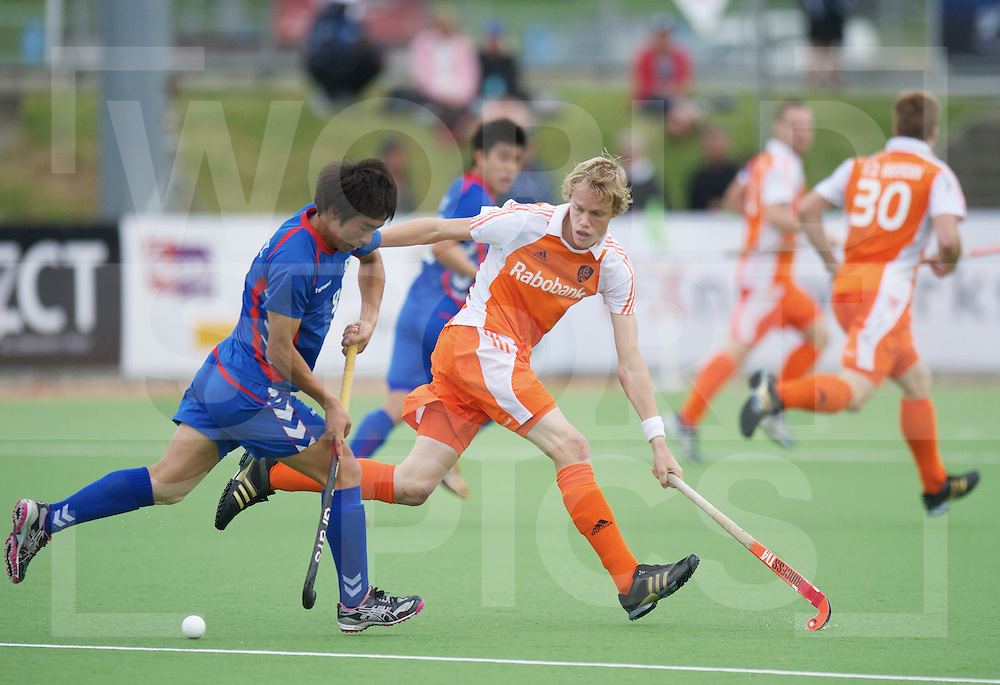 AUCKLAND - Champions Trophy men.Netherlands v Korea.foto: Tim Jenniskens..FFU Press Agency  COPYRIGHT FRANK UIJLENBROEK..