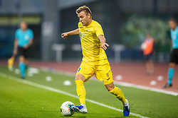Slobodan Vuk  of NK Domzale during 2nd Leg Football match between NK Domzale and FC Balzan  in First Qualifying match of UEFA Europa League 2019/2020, on July 18, 2019 in Sports park Domzale, Domzale, Slovenia. Photo by Ziga Zupan / Sportida