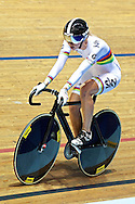 Picture by Ian Wadkins/Focus Images Ltd +44 7877 568959<br /> 02/11/2013<br /> Becky James of Team GB pictured during day two of the UCI Track Cycling World Cup  at the National Cycling Centre, Manchester.
